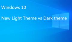 A closer Look at Windows 10 New Light vs Dark Theme
