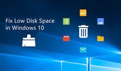 Five Methods to Fix Low Disk Space in Windows 10