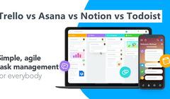 Trello vs Asana vs Notion vs Todoist: How to Choose?