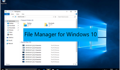 Best Free File Manager software for Windows 10