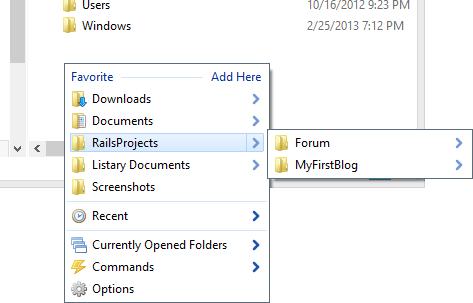 Listary screenshot