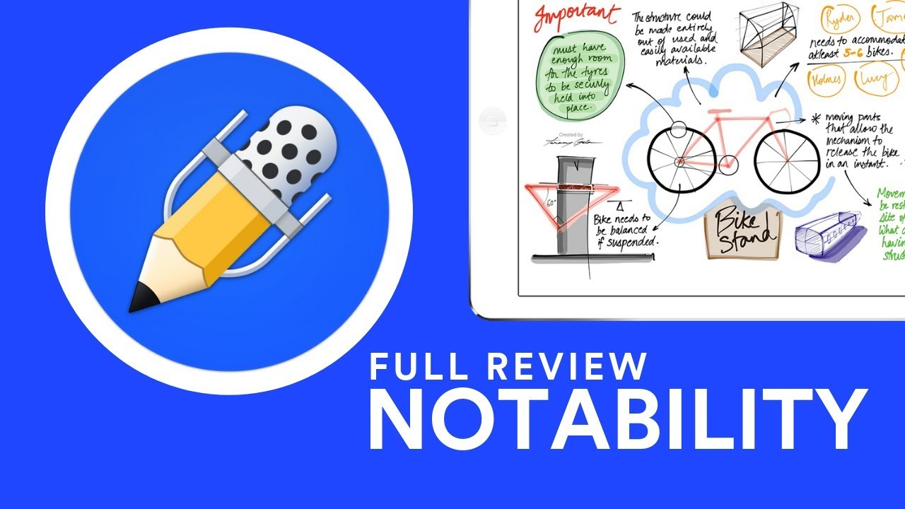 notability note-taking app