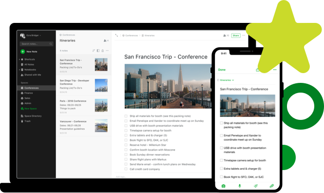 evernote note-taking app