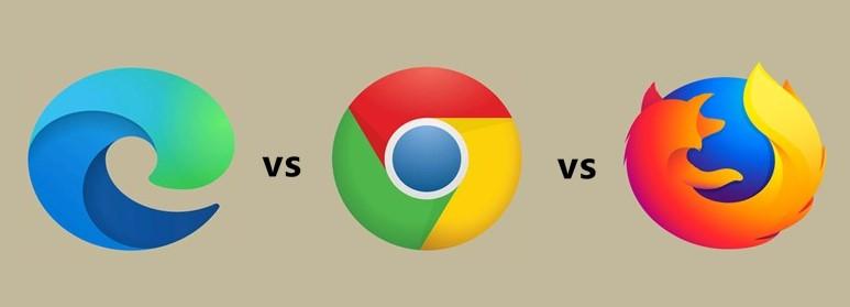 new microsoft edge vs google chrome vs firefox