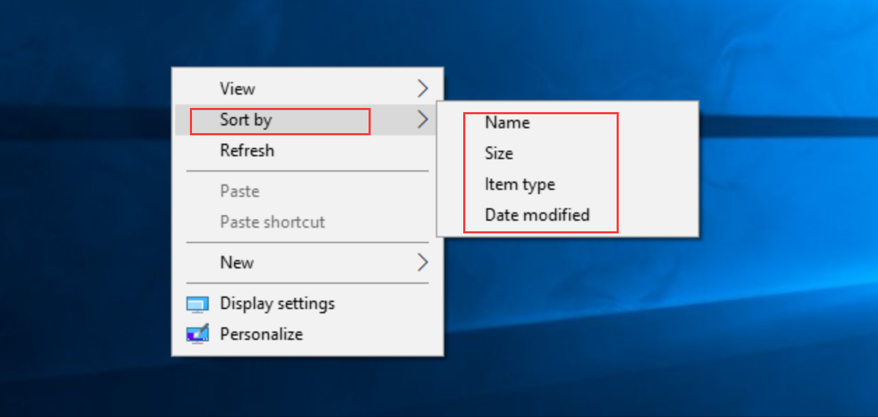Sort Your Desktop Icons Automatically