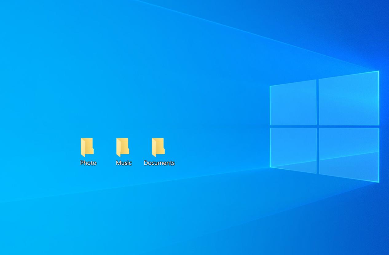 Organize Folders by Category