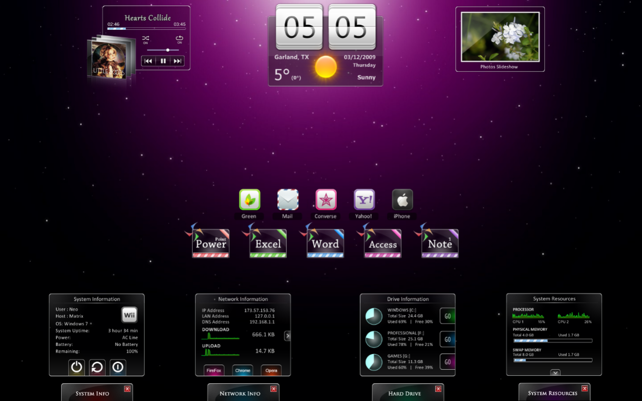themes by Rainmeter 1
